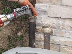 filling a fuel oil tank
